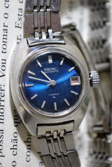 Relógio Seiko Automatic 17 Jewels 2205-0050 627378 Feminino