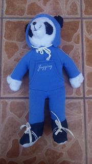 Peluche Oso Panda Jogging 45 Cms De Alto!!