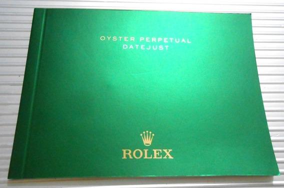 Original Rolex Oyster Perpetual Datejust 2016