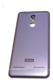 Tampa Traseira Carcaça Lenovo Vibe K6 K33b36 5.0 Azul Origin