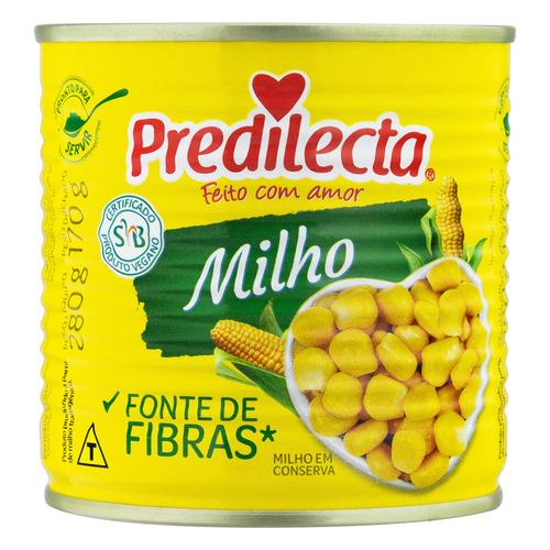 Imagem 1 de 3 de Milho Verde em Conserva Predilecta Lata 170g