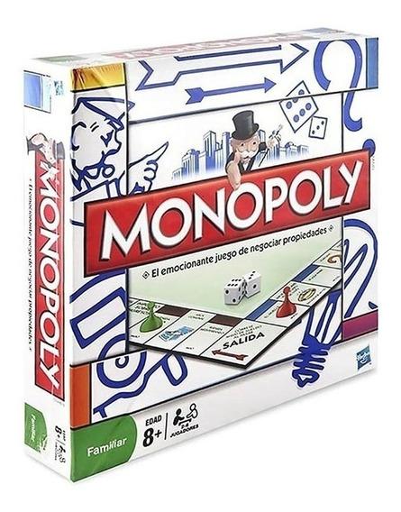 Juego De Mesa Monopoly Popular De Hasbro Cuotas