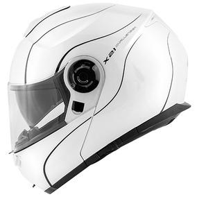 Capacete Givi X21 Graphic Branco Preto 60