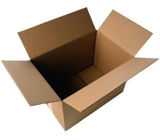 Caja De Carton Estandar 35x25x15 X 25 Unidades