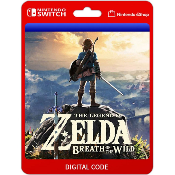 Zelda Breath Of The Wild - Digital - Nintendo Switch Codigo