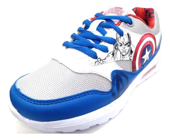 Zapatillas Deportivas Marvel Capitán América Capsula