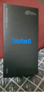 Galaxy Note 8 128gb Orchid Gray Detalle Pantalla Telcel