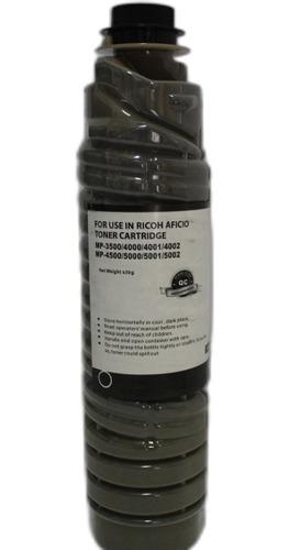 Imagen 1 de 1 de Toner Para Ricoh Mp  3500/4000/4001/4002/4500/5000/5001