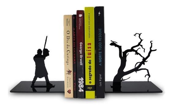 2 Peças Bibliocanto Para Livros, Bluray Noite Do Terror