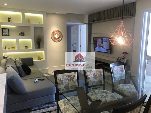 Imagem 1 de 25 de Apartamento Com 3 Dormitórios À Venda, 95 M² Por R$ 770.000,00 - Jardim Aquarius - São José Dos Campos/sp - Ap3319
