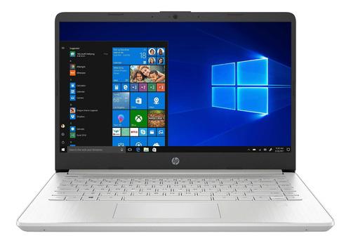 """Imagen 1 de 6 de Notebook HP 14-DQ1043CL plata 14"""", Intel Core i3 1005G1  8GB de RAM 256GB SSD, Intel UHD Graphics 1920x1080px Windows 10 Home"""