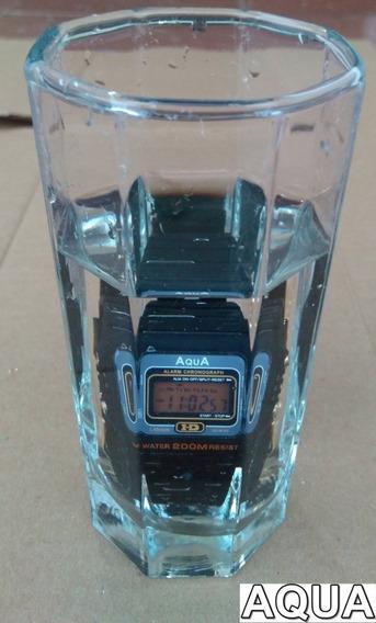 Kit Com 2 Relógios Aqua Prova D