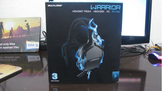 Headset Gamer Warrior Ph158 Pc Ps3 Ps4 Xbox360