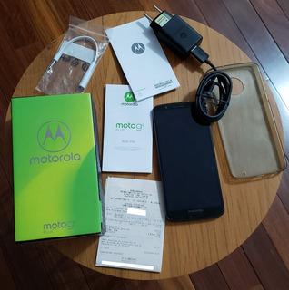 Celular Moto G6 Plus 64gb Com Acessórios Perfeito Estado!