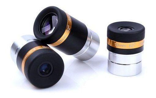 Kit Ocular Aspheric Grande Angulo 62° P/ Telescópio
