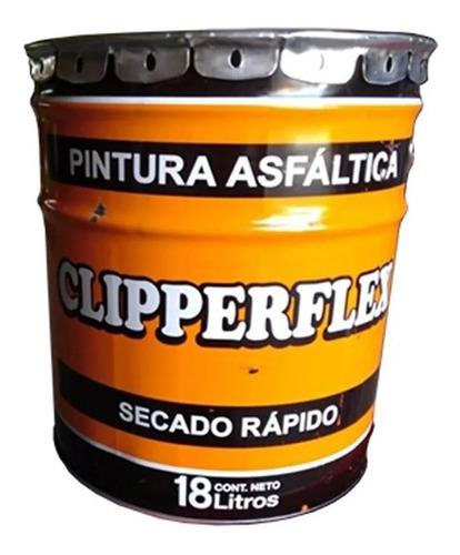 Pintura Asfaltica  Cliperflex 18 Litros