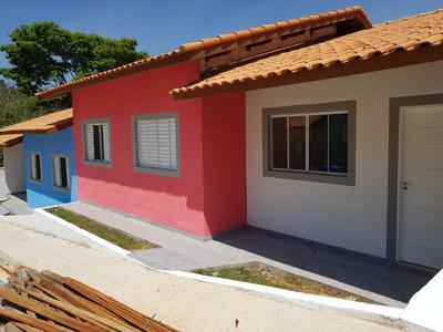 Casa Em Centro, Vargem Grande Paulista/sp De 67m² 3 Quartos À Venda Por R$ 181.000,00 - Ca44946