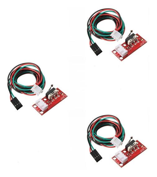 Kit 3pçs Chave Sensor Fim De Curso Impressora 3d Ramps 1,4 .