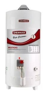 Termotanque Sherman 50 Litros Pie Gas Tpgp050msh13 Superior
