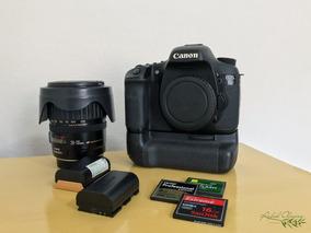 Câmera Eos 7d Canon | Lente 28-135mm | Battery Grip