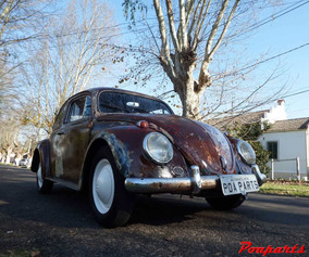 Fusca 65 1600 Rat Look Hoodride Poaparts