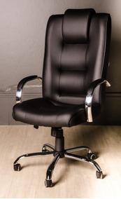 Cadeira Escritório Presidente Classic Couro (100% Nacional)