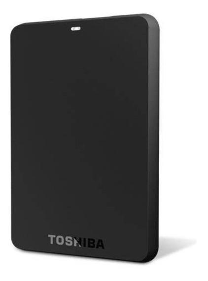 Hd Externo 1 Tera Usb 3.0 Preto Toshiba Canvio Hdtb410x