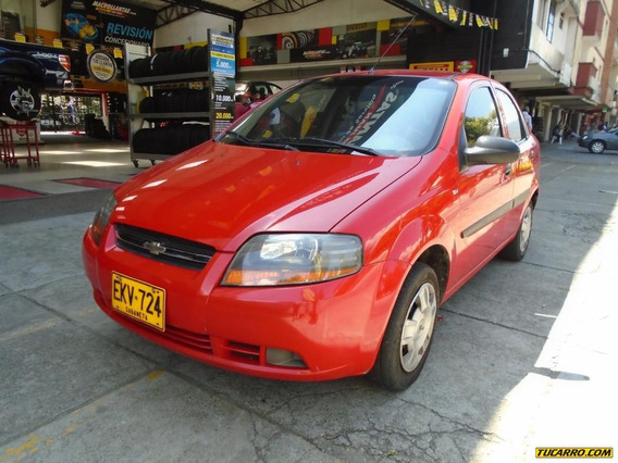 Chevrolet Aveo Sd Mt 4p Aa