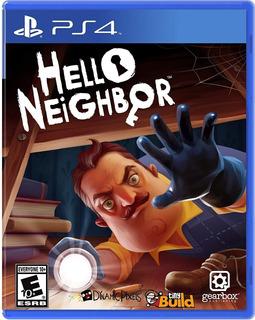 Ps4 Hello Neighbor / Fisico