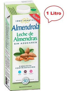 Leche De Almendras Sin Azucar 1 Litro