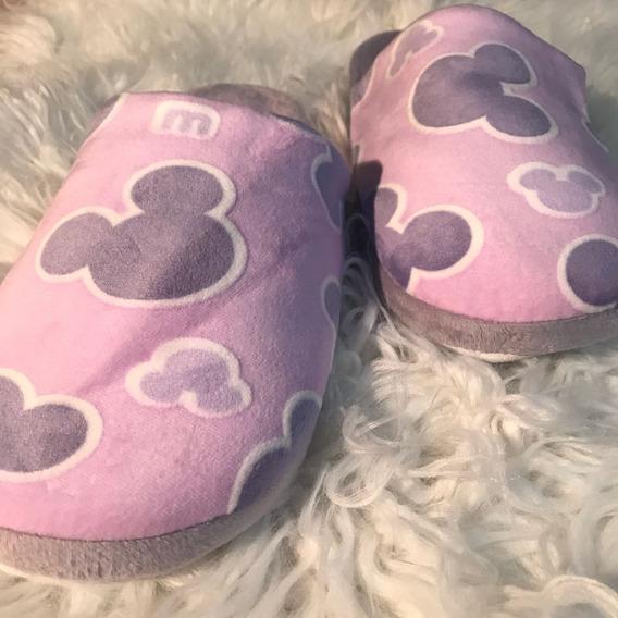 Pantuflas Felpa Mickey Importadas