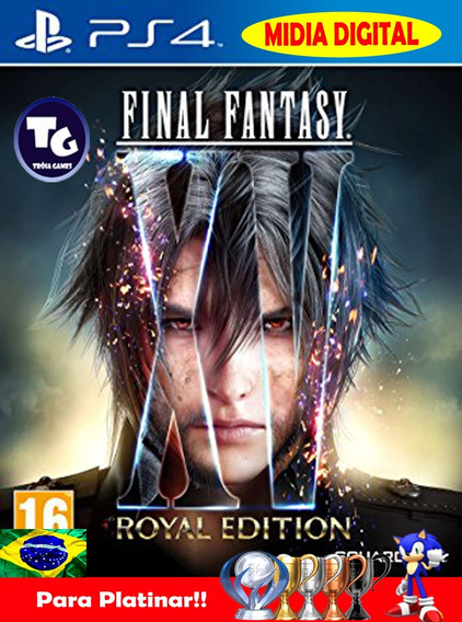 Final Fantasy Xv Royal Edition + Multiplayer + S.pass 30dias