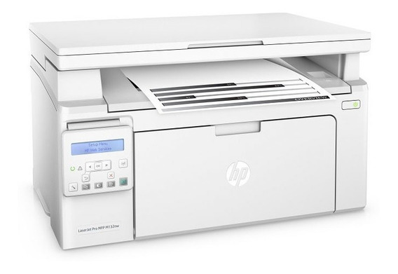 Multifuncional Laserjet Mono Hp G3q62a#696 Pro M132nw Imp/co