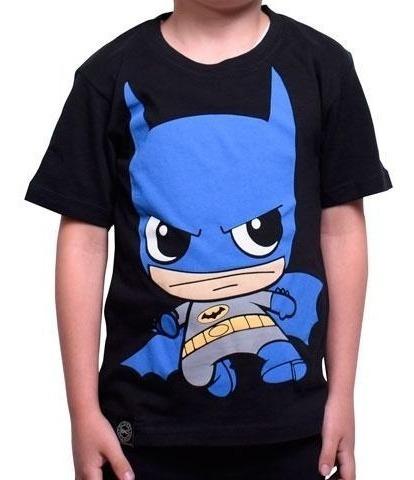 Playera Niño Batman Caricatura Envio Gratis