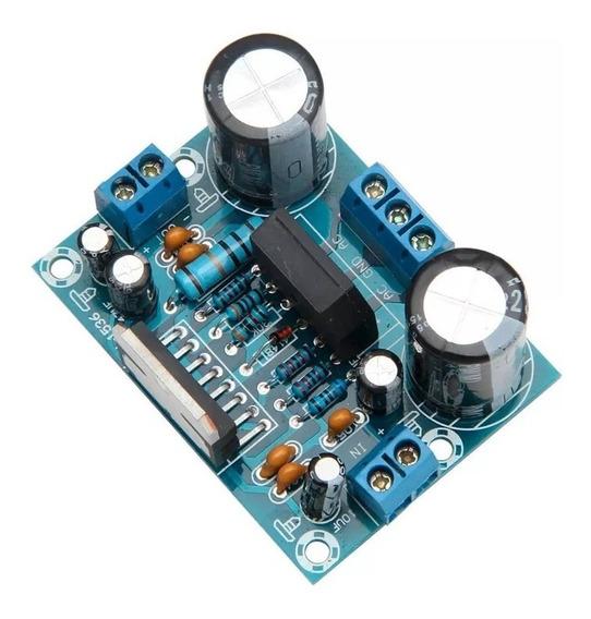 Amplificador Potência De Áudio Tda7293 100w Placa Montada