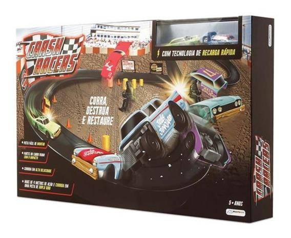 Pista Crash Racers + 2 Carrinhos Br1043 Multikids