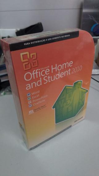 Office 2010 Home Student Full Pt-br Para 3 Pcs Fpp - Com Nf