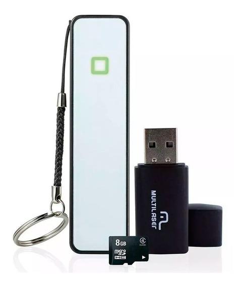 Power Bank Smartphone Pendrive Cartão Sd Microsd 8gb Class 4