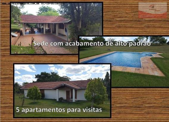 Fazenda Para Venda Em Tatuí, Tatui S/p, 4 Dormitórios, 5 Suítes - 1993_1-859051
