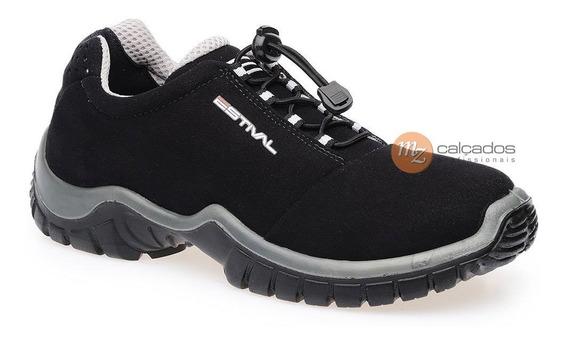 Sapato Segurança Preto/cinza Estival En10021s2 Ca 28.140