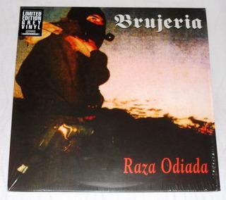Brujeria Raza Odiada Lp Grey Vinyl