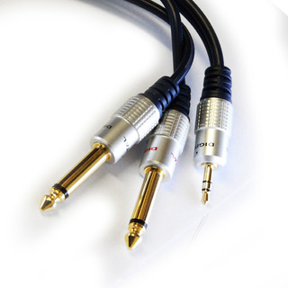 Cable Audio Mini Plug Stereo X 2 Plug. Puresonic. Todovision