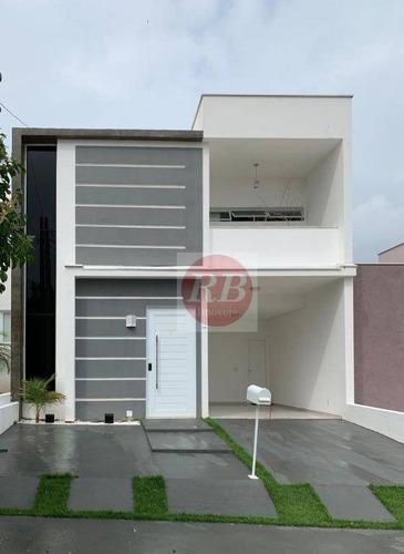 Casa Com 3 Dormitórios À Venda, 150 M² Por R$ 580.000,00 - Condominio Golden Park Residence Ii - Sorocaba/sp - Ca0378