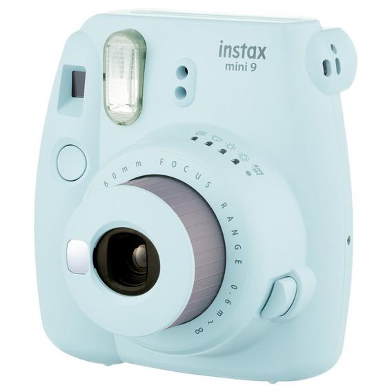 Câmera Instantânea Fuji Instax Mini 9 Azul Aqua