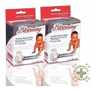 Blooming Sachets Esterilizados X 160 Unidades - Para Leche