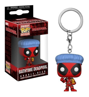 Funko Pop Llavero Deadpool Bathtime Pata`s Games & Toys