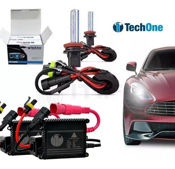 Kit Xenon Techone 4300k 6000k 8000k H1 H3 H7 H11 H4-2 Hb4