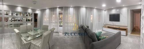 Apartamento À Venda, 168 M² Por R$ 1.359.000,00 - Jardim Santa Mena - Guarulhos/sp - Ap16262