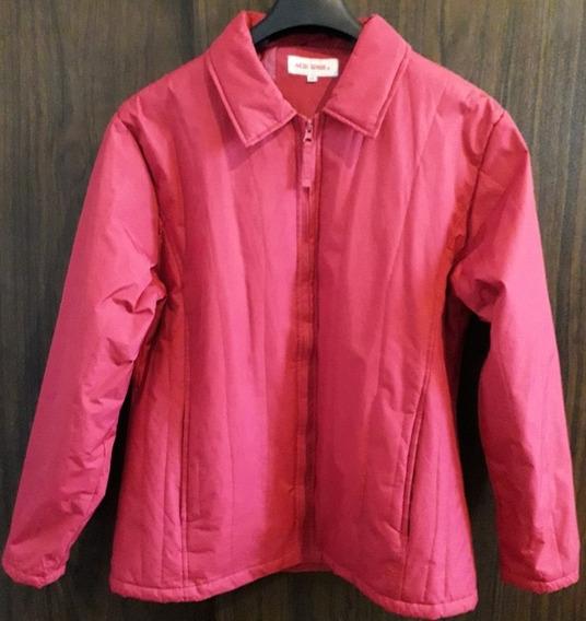 Chamarra Impermeable Color Rosa