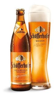Caja X6 Cerveza Schofferhofer 500 Ml + Vaso Regalo
